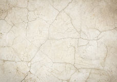 Gebarsten concrete vloerachtergrond Stock Foto's