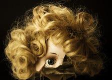 Gebarsten Doll Royalty-vrije Stock Afbeeldingen
