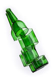 Gebarsten fles Royalty-vrije Stock Afbeelding
