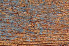 Gebarsten houten textuur Stock Foto's