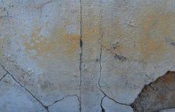 Gebarsten muren van verslechtering stock fotografie