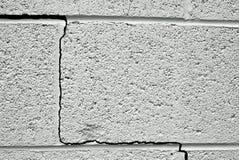 Gebarsten muur stock afbeelding