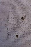 Gebarsten muur Stock Foto's