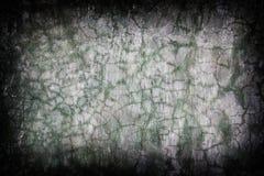 Gebarsten muur grunge achtergrond Stock Foto