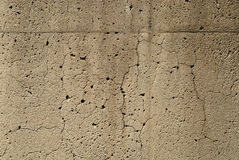 Gebarsten Oud Cement Stock Fotografie