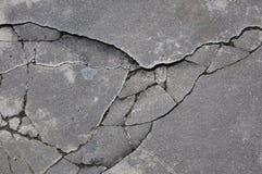 Gebarsten rotstextuur Stock Foto