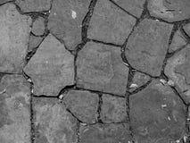 Gebarsten steentextuur Stock Afbeelding