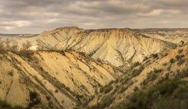 Gebas ravine, Murcia. V Royalty Free Stock Image