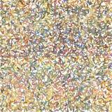 Gebaseerde de lijnen van de borstelteller, korte komma's in pastelkleuren Royalty-vrije Stock Fotografie