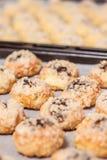 Gebeëindigde Tsjechische eigengemaakte zoete broodjes Stock Afbeeldingen