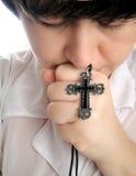 Gebed stock foto's