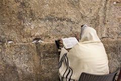 Gebed bij Westelijke Muur Stock Foto's
