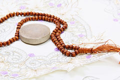 Gebedparels Royalty-vrije Stock Afbeelding
