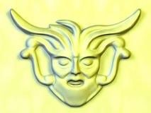 Gebeeldhouwd standbeeld Stock Foto