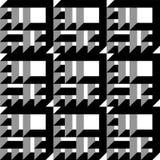 Gebeiteld 3D Patroon Stock Fotografie