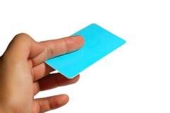 Geben der Visitenkarte Lizenzfreies Stockbild