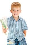 Geben des Geldes Lizenzfreie Stockfotos