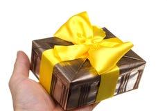 Geben des Geschenkes Lizenzfreie Stockfotos
