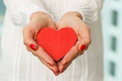 Geben des Herzens lizenzfreies stockfoto