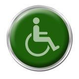 Geben Sie für Behinderte frei Lizenzfreies Stockbild