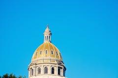 Geben Sie Kapitol-Gebäude in Denver an Stockfoto