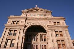 Geben Sie Kapitol-Gebäude in im Stadtzentrum gelegenem Austin, Texas an lizenzfreie stockfotos