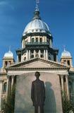 Geben Sie Kapitol von Illinois an Lizenzfreies Stockbild