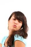 Geben Sie mir einen Kuss! Lizenzfreie Stockfotografie