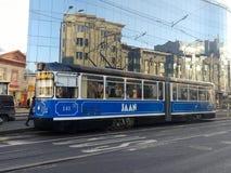 geben Sie Transport in Tallinn frei Stockbilder