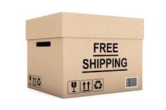 Geben Sie Verschiffen-Kasten frei Lizenzfreie Stockfotografie