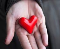 Geben von Liebe Lizenzfreie Stockfotos