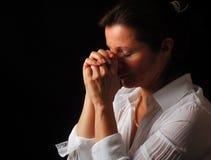Gebet Stockbild