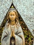 Gebet-Skulptur Stockfotografie