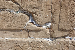 Gebete in der westlichen Wand Jerusalem Stockfotos