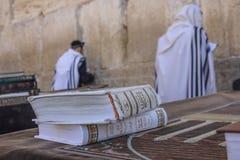 Gebete an der Westwand Lizenzfreie Stockfotografie