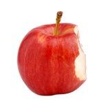 Gebeten appel stock afbeelding