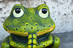 Gebets-Frosch Lizenzfreies Stockbild