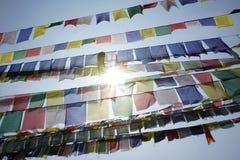 Gebetsflaggen Lizenzfreie Stockbilder