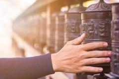 Gebetsrad Lizenzfreie Stockbilder