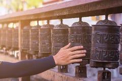 Gebetsrad Stockbild