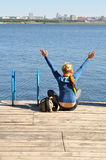 Gebetstadt, entspannen sich, Freizeit Stockbilder