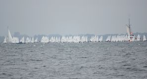 Gebeurtenis-Kiel Week - Regatta - Kiel - Duitsland - Oostzee Royalty-vrije Stock Fotografie