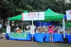 Gebeurtenis van Kunsten in het Park Mardi Gras in Hong Kong Royalty-vrije Stock Afbeeldingen