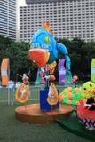 Gebeurtenis van Kunsten in het Park Mardi Gras in Hong Kong Royalty-vrije Stock Fotografie