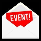 gebeurtenis Webpictogram, e-mailmededeling Royalty-vrije Stock Foto's
