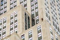 Gebeurtenishorizon in de Stad van New York door Antony Gormley Stock Foto