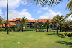 Gebied bij het hotel op Bali Royalty-vrije Stock Fotografie