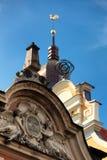 Gebied en de Gouden Kathedraal van de Jonge haankoepel in Riga Royalty-vrije Stock Foto