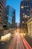 Gebied het van de binnenstad van San Francisco Embarcadero stock afbeeldingen