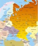 Gebied het West- van Rusland stock illustratie